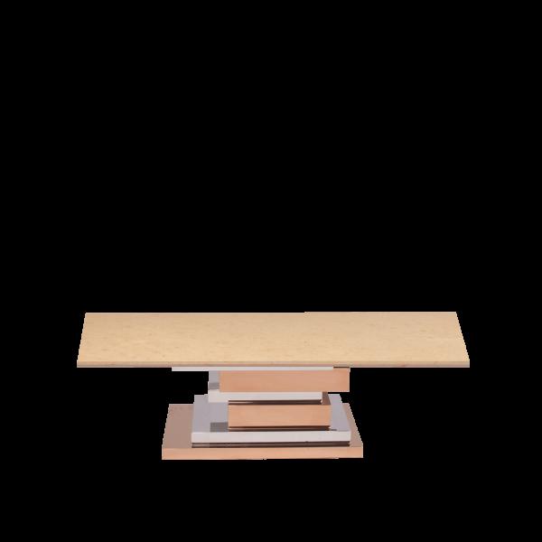 Honey-Beige-rectangular-marble-coffee-table-decasa-marble-8