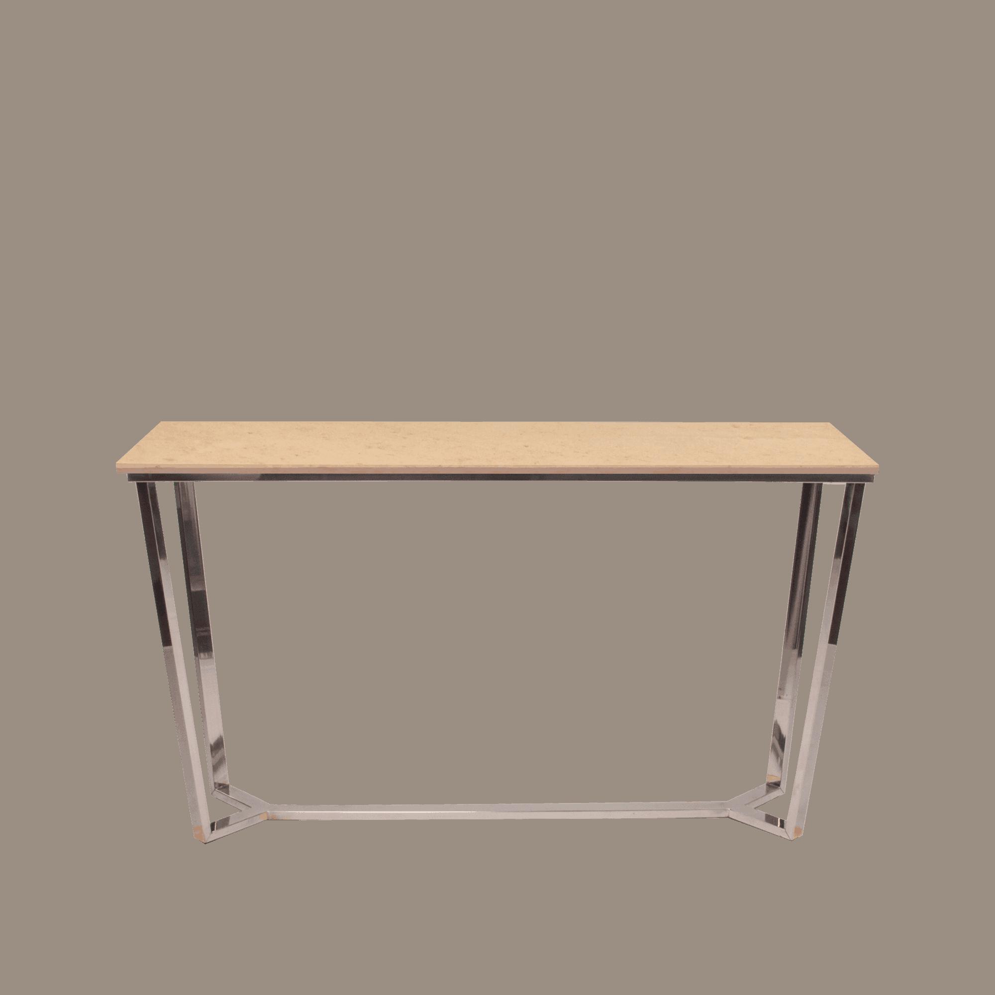 Narrow Rectangular Brass And Marble Coffee Table By Edward: Rectangular Marble Console Table Honey Beige