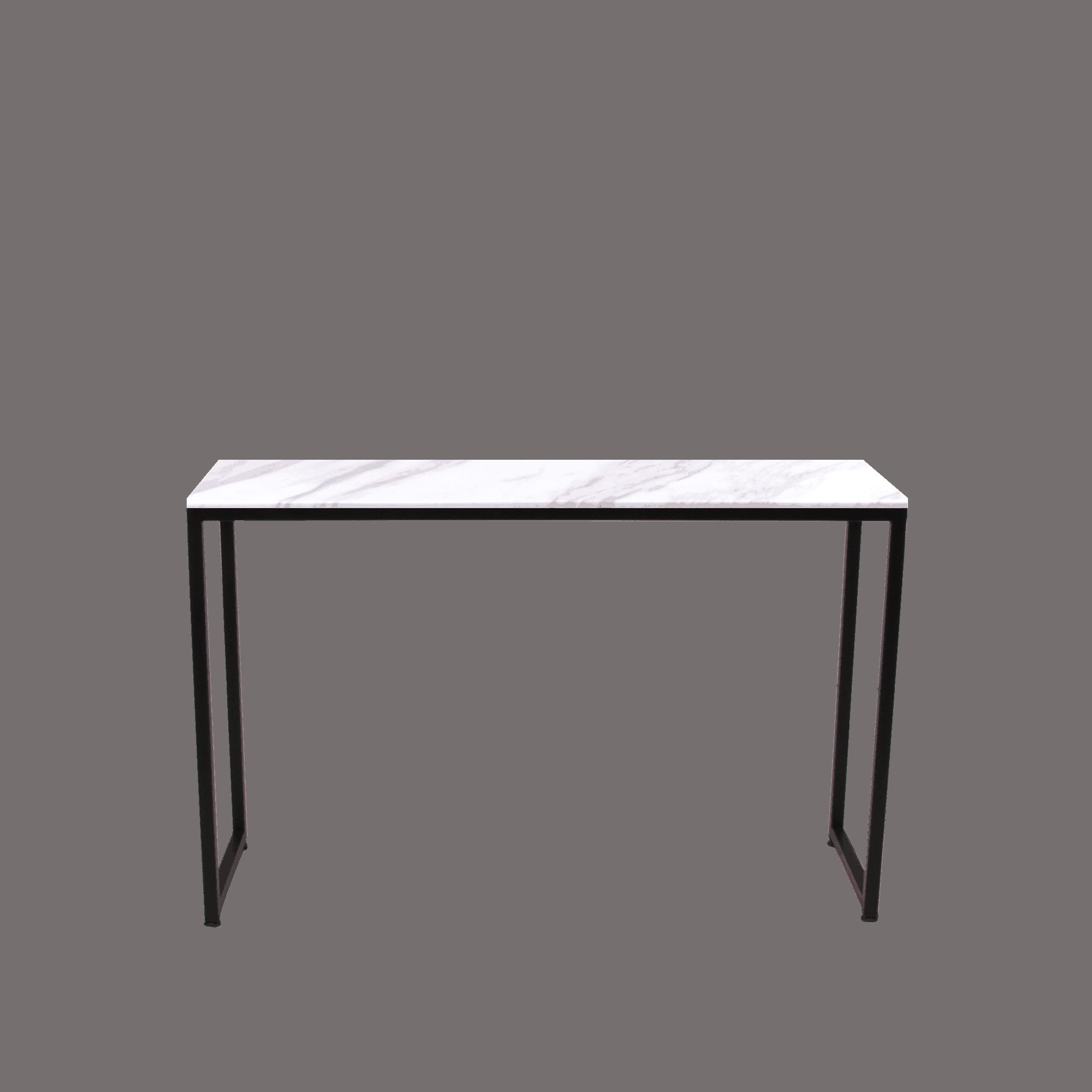 Louis Rectangular Marble Console Table Volakas